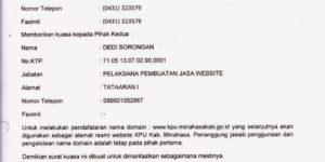Contoh Surat Kuasa Dinas & Pengambilan BPKB Lengkap